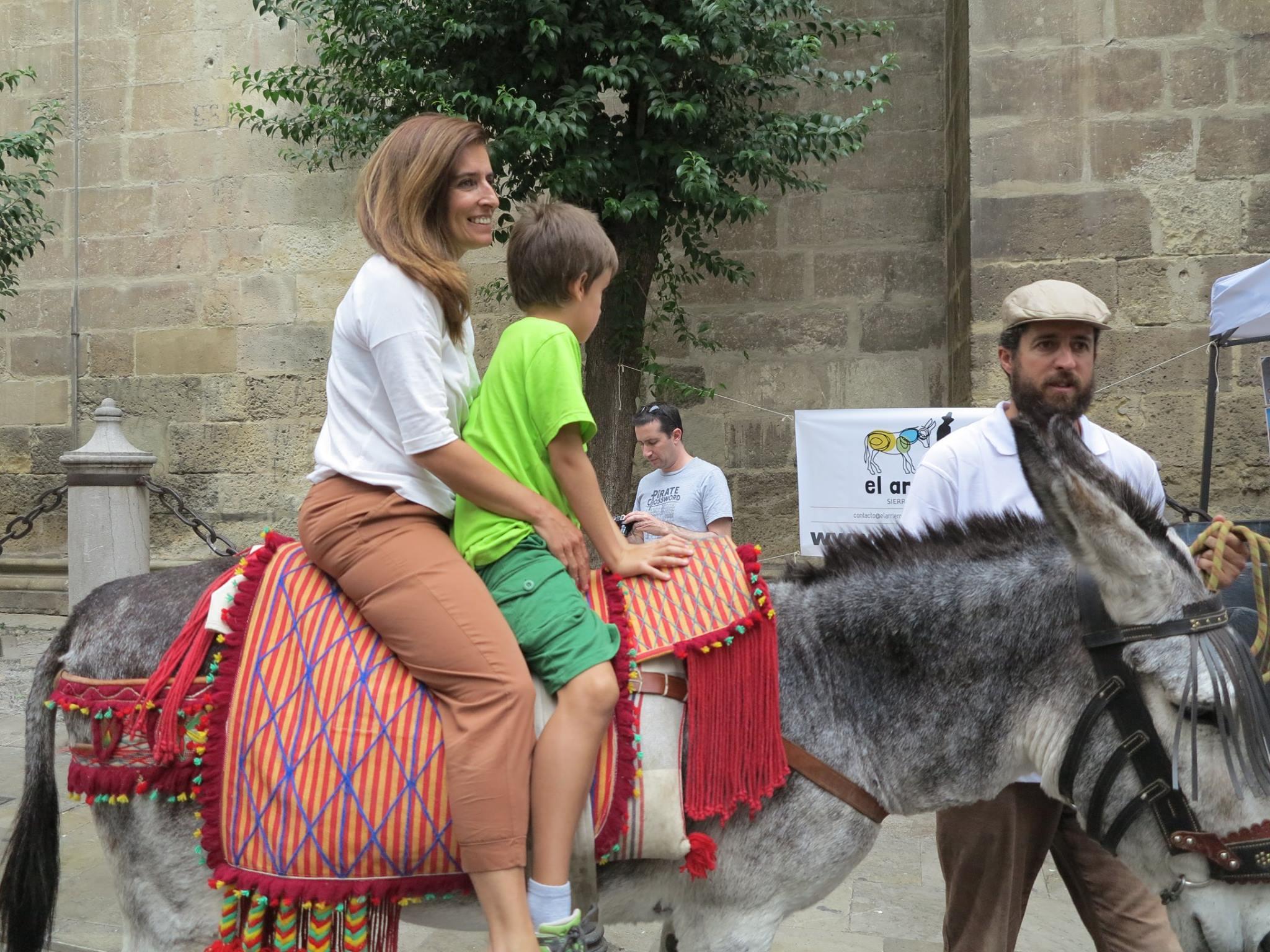 """el arriero con """"Las Bellotas"""" Reserva del Asno Andaluz por Granada"""